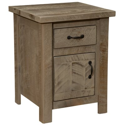 Frontier 1 Drawer Nightstand Finish: Driftwood