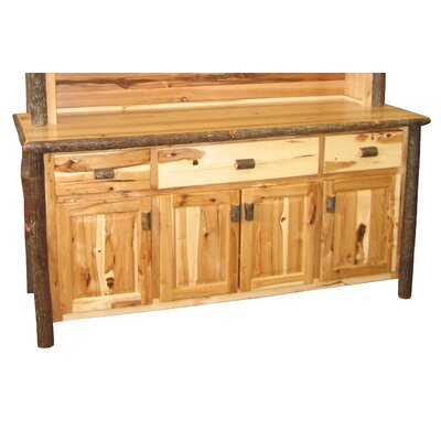 Hickory Sideboard Finish: Rustic Maple
