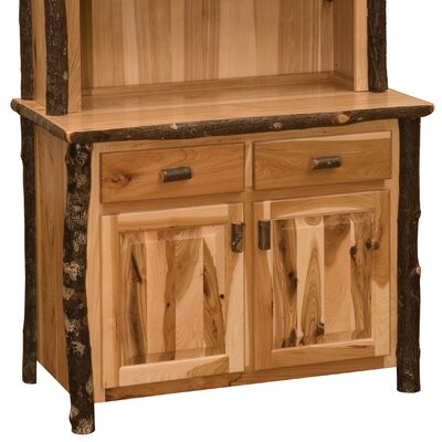 Hickory Server Color: Rustic Maple