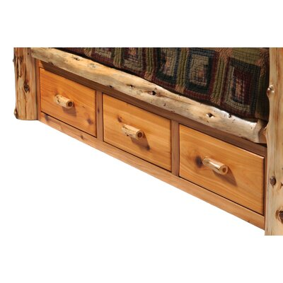Cedar Storage Drawers Finish: Traditional