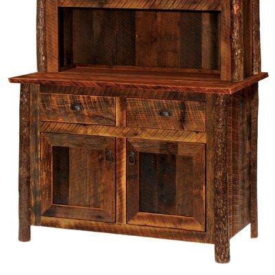 Barnwood Server Finish: Antique Oak