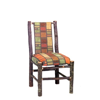 Low Price Fireside Lodge Hickory Side Chair (Set of 2) Upholstery: Saddle Ranch