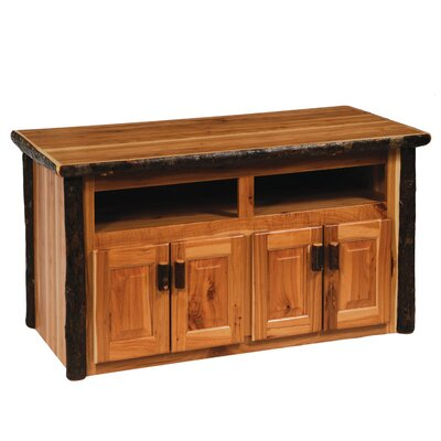 Cheap Fireside Lodge Hickory Widescreen 68″ TV Stand Finish: Rustic Maple (FDL1061_3621859)