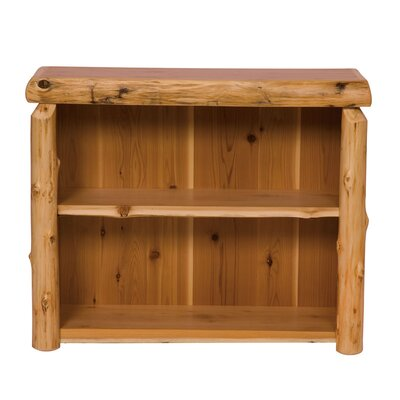 Traditional Cedar Log Bookcase Size: Small Product Picture 730