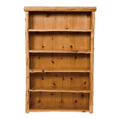 Traditional Cedar Log Standard Bookcase Product Picture 1049