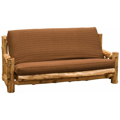 Cedar Futon Slipcover Upholstery: Alligator Faux Leather