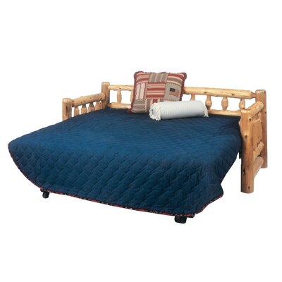 Traditional Cedar Log Daybed Accessories: Trundle, Finish: Traditional
