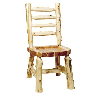 Traditional Cedar Log Solid Wood Dining Chair
