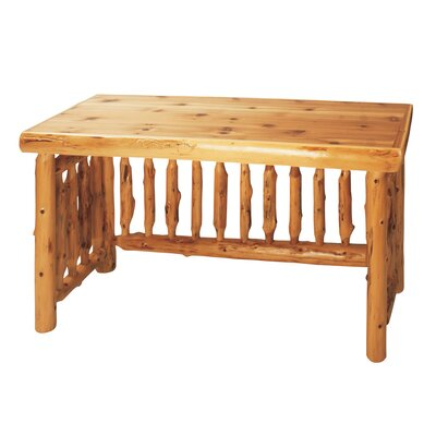 Traditional Cedar Log Writing Desk Product Picture 1049