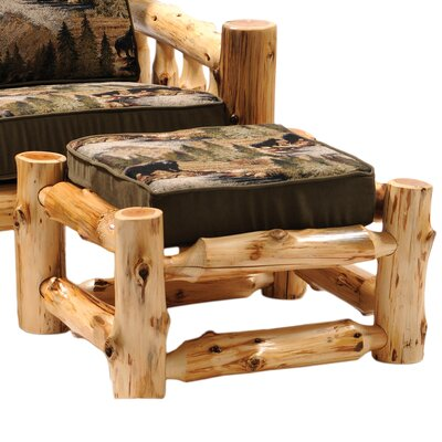 Cedar Chair Ottoman Upholstery: Mountain Storm