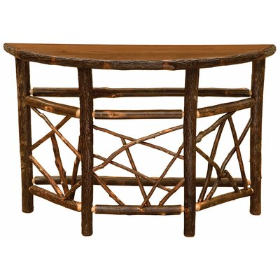 Hickory Console Table Finish: Rustic Alder