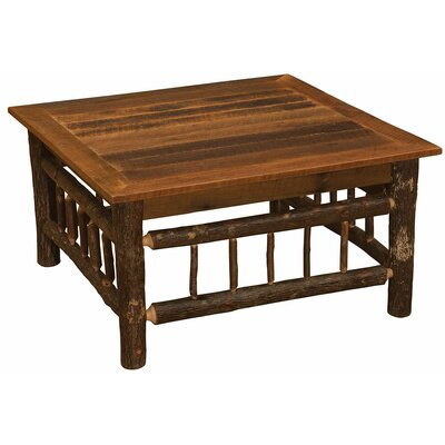 Hickory Coffee Table Size: 18 H x 42 W x 42 D