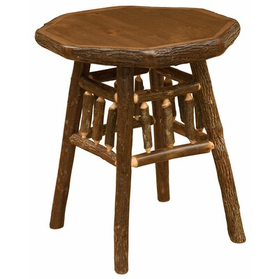 Hickory Teton End Table Finish: Espresso