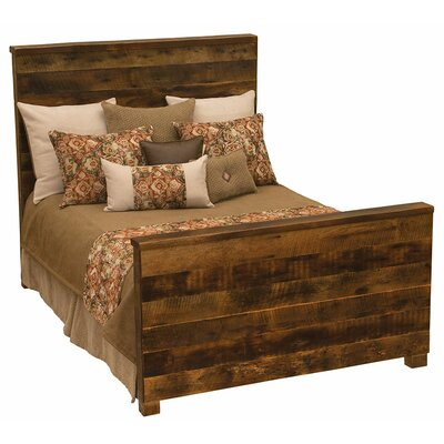 Barnwood Uptown Panel Configurable Bedroom Set