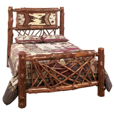 Rent Adirondack Twig Slat Bed Size: Twin...