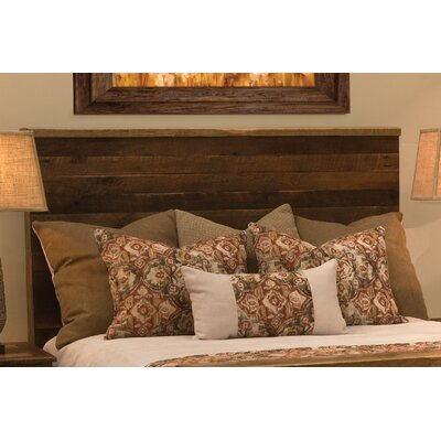 Barnwood Uptown Panel Headboard Size: California King
