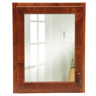 Hickory 22 x 18 Recessed Medicine Cabinet Finish: Traditional Hickory, Orientation: Right