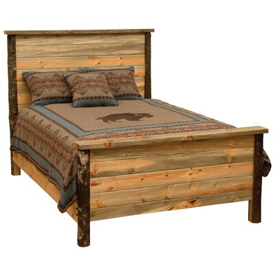 Glacier Panel Bed Size: California King
