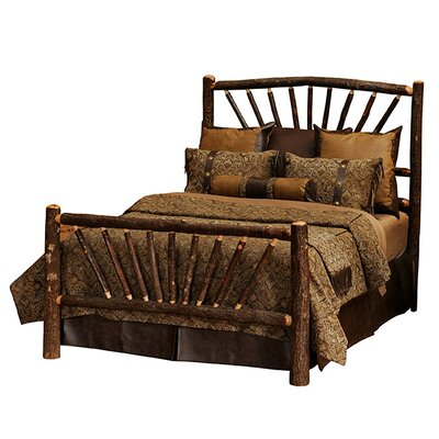 Hickory Wood Headboard Size: Single