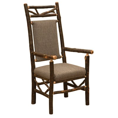 Hickory Twig Upholstered Arm Chair