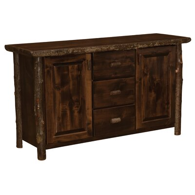 Hickory Sideboard Color: Espresso