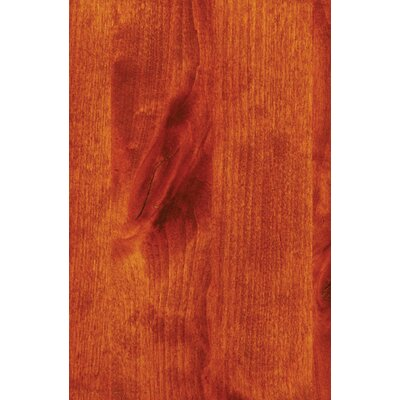 Hickory Twig Log Dining Table Color: Rustic Alder