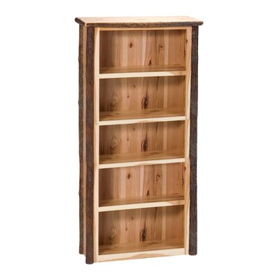 Hickory Bookcase Rustic Alder Large Product Photo