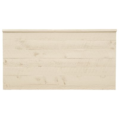 Frontier Uptown Panel Headboard Finish: Cottonwood, Size: King
