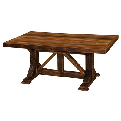 Homestead Dining Table Size: 30 H x 42 W x 84 L