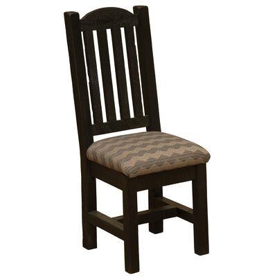 Frontier Bistro Upholstered Dining Chair Color: Midnight