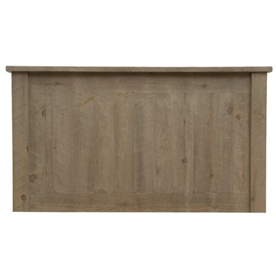 Frontier Panel Headboard Size: King, Color: Driftwood