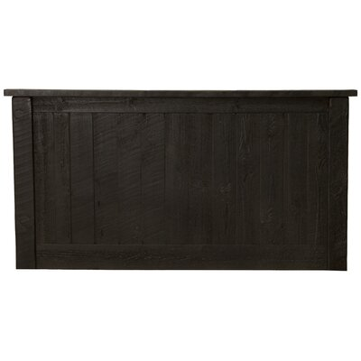 Frontier Panel Headboard Size: Single, Color: Midnight