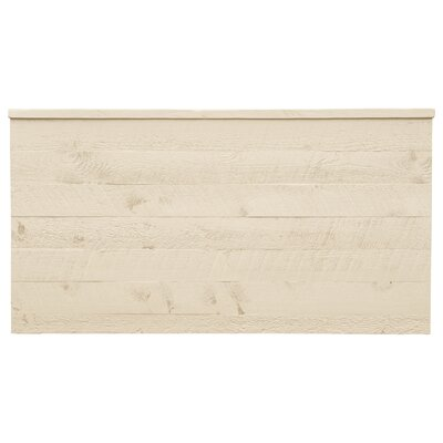 Frontier Uptown Panel Headboard Size: King, Color: Cottonwood