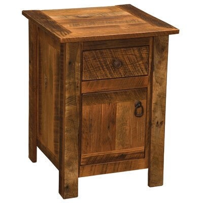 Barnwood 1 Drawer Nightstand Color: Barnwood
