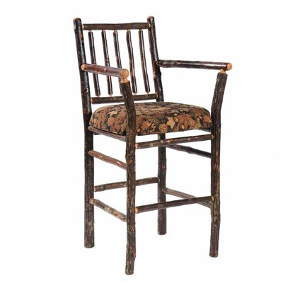 Hickory 30 Bar Stool Finish: Rustic Alder