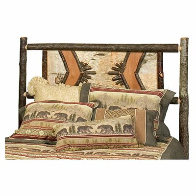 Hickory Adirondack Panel Headboard Size: Twin