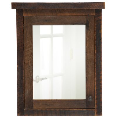 Barnwood 32 x 32 Surface Mounted Medicine Cabinet Orientation: Right
