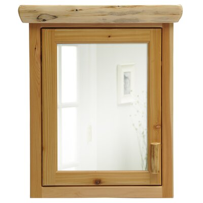 Cedar 27 x 32 Surface Mounted Medicine Cabinet Orientation: Right