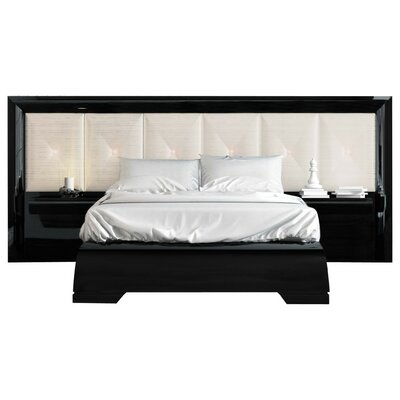 Headboard Platform Bedroom Set Queen
