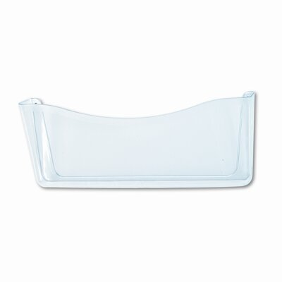 Unbreakable Single Pocket Wall File, Legal, Clear