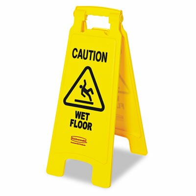 Commercial Caution Wet Floor Sign