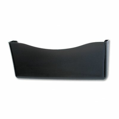 Unbreakable Single Pocket Wall File, Legal, Smoke