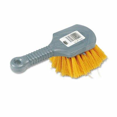 Commercial Long Handle Scrub, 8 Plastic Handle