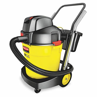 Rubbermaid 12.5-Gallon Wet/Dry Vac, Black/Yellow at Sears.com