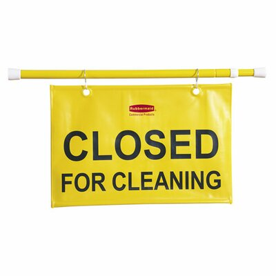 Closed for Cleaning Hanging Safety Sign