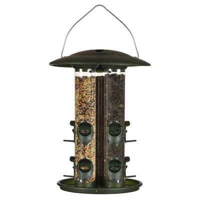 6 Lbs Birdscapes Triple Tube Bird Feeder