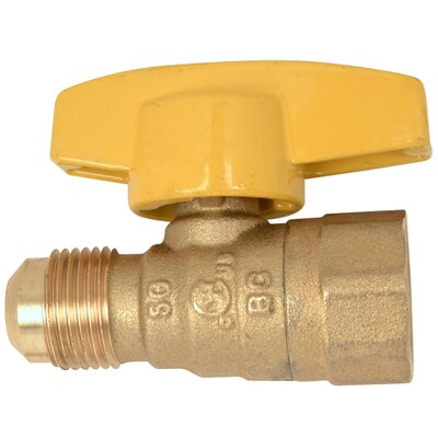 Water Heater Gas Ball Valve