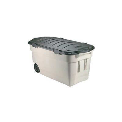 Rubbermaid Roughneck Wheeled Storage Box Dark Indigo Metallic at Sears.com