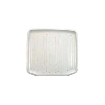 Dish Drainer Tray (Set of 6) Color: White, Size: 1.83 H x 19.38 W x 15.04 D