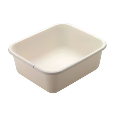 Rectangle Dishpan Finish: Bisque